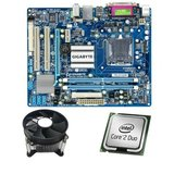 Kit Placa de Baza Refurbished GIGABYTE G41M-ES2L, Core 2 Duo E6550, Cooler